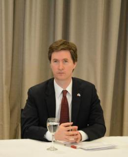 El Embajador de Canadá en Argentina visitó la Casa LGBTI deRosario